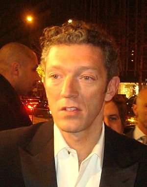 English: French Actor Vincent Cassel in Paris ...